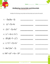 Divide the Polynomials: Worksheet # 3 - Answers on 2nd Page of PDF ...