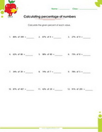 Worksheets On Ratios Proportions Pdf Downloads
